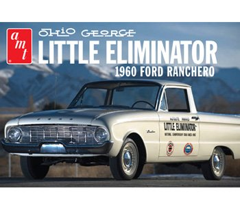 AMT AMT822 1:25 Scale 1960 Ford Ranchero Ohio Georg Model Kit ()