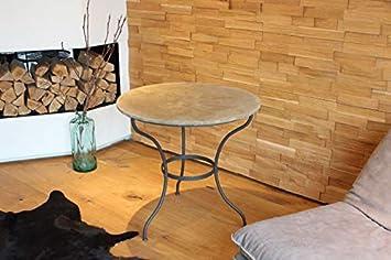 Verde Berger wohnmanuf aktur WMG Jardín Mesa Dublin Hierro con Piedra Bandeja Redonda Diámetro 80 cm: Amazon.es: Juguetes y juegos