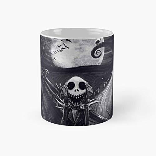 happy halloween Mug, qobl Funny Mugs, 11 Ounce Ceramic Mug, Perfect Novelty Gift Mug, Tea Cups, Funny Coffee Mug 11oz, Tea -