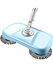 Hand-Push Vacuum Sweeping Machine Broom Manual Broom Vacuum Cleaner