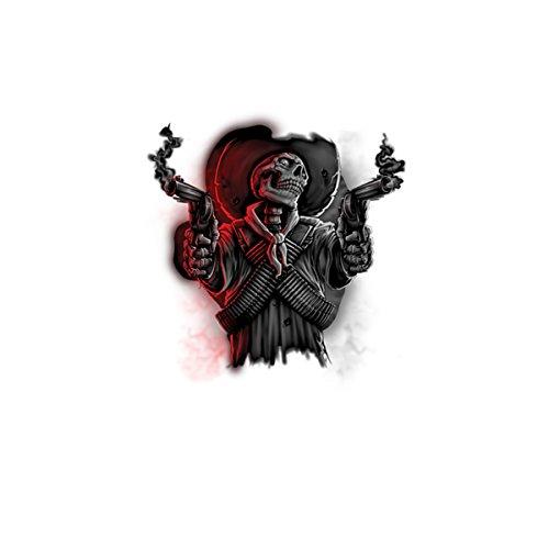Cráneo Mafia Pistola Mujer Camiseta M-2XL Nuevo Blanco