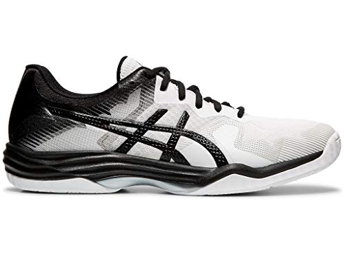 ASICS Men's Gel-Tactic 2 Volleyball Shoes, 10.5M, White/Black ()