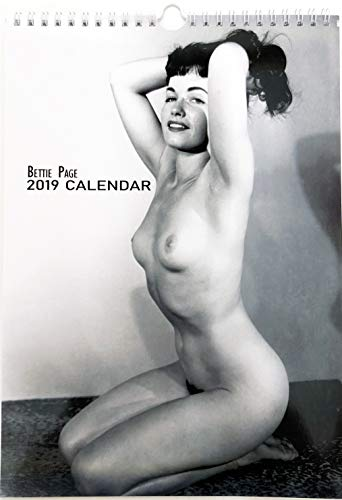 Bettie Page Edition 2 Wall Calendar New 2019 Pin up Glam Sexy Girl Retro Vintage A4