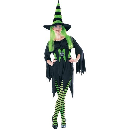 Rubie's Costume Co Green/Black Striped Tights Costume -