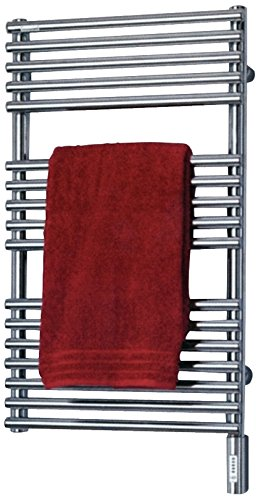 Runtal NTRED-3320-9007 Neptune Electric Towel Radiator Direct Wire 33-in H x 20-in W Steel