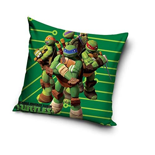 Funda de cojín de Tortugas Ninjas, 100% algodón, 40 x 40 cm ...