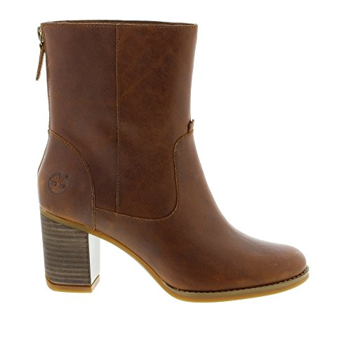 Atlantic Heights Mid Back Zip Boot - CA16D1 Brown