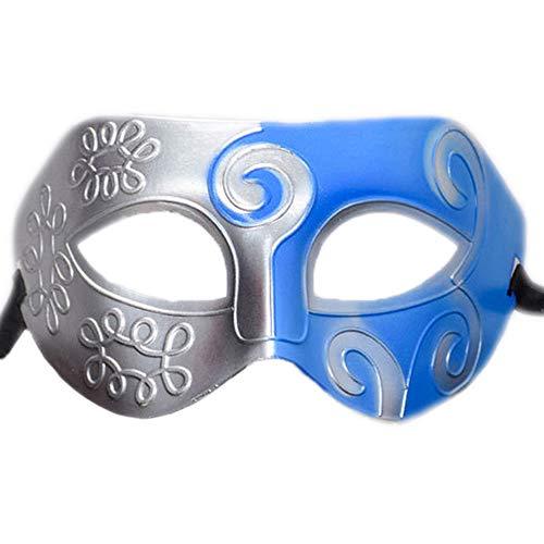 Rehoty Mens Masquerade Mask Vintage Half Face Party