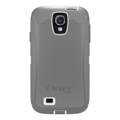 OtterBox 77-27437 'Defender Series' Protective Case for Samsung Galaxy S4 Phone - Glacier (Retail Packaging from OtterBox) (Samsung Galaxy 4 Case Otterbox)