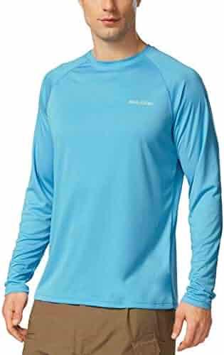 92d5fe06bb0b Baleaf Men s UPF 50+ UV Sun Protection Outdoor Running Performance T-Shirt