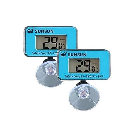 Termometro Digital Sumergible para Acuario 2 Unidades: Amazon.es: Productos para mascotas