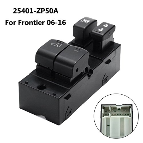 Window Nissan Switch - Front Left Driver Power Window Switch For Nissan Frontier 2 Door 2006-2016 25401-ZP50A 25401ZP50A