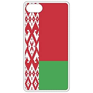 Belarus Flag - White Apple Iphone 6 plus 5.5 Cell Phone Case - Cover