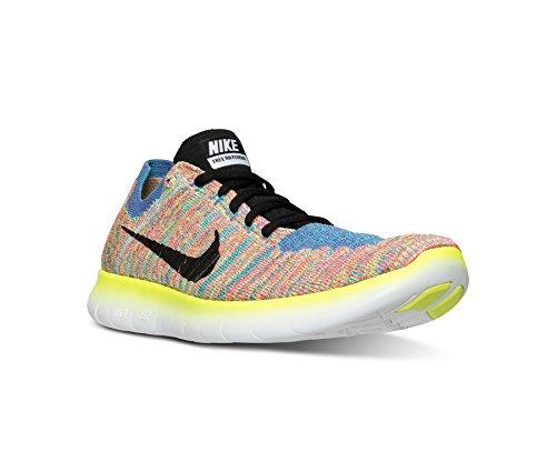 022ae00d3a01e Buy Nike Women's Free RN Flyknit Blue Glow/White Running Shoes ...