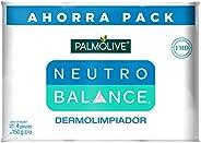 Jabón de Tocador, Palmolive Neutro Balance Dermo, Purificante en Barra 150 G