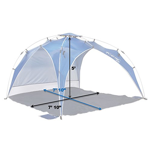 lightspeed outdoors quick canopy instant pop up shade tent new ebay. Black Bedroom Furniture Sets. Home Design Ideas