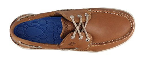 Sperry Top-sider Mens 3 Gamefish Yeux Cognac Chaussure Bateau