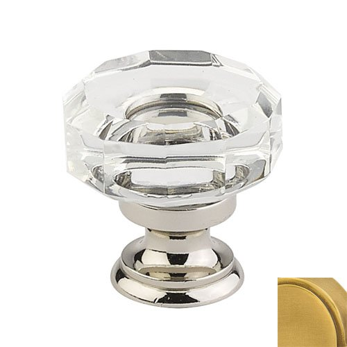 Lowell Crystal Knob Finish French Antique Brass