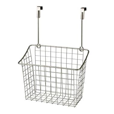 Spectrum Diversified 56377 Over-The-Cabinet/Drawer Grid Basket, Large, Satin Nickel