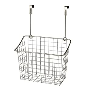 Spectrum Diversified Over-The-Cabinet/Drawer Grid Basket, Large, Satin Nickel