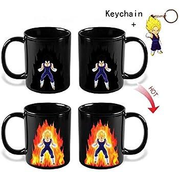 Amazon Com Beneu Dragon Ball Z Color Changing Coffee Mug Heat