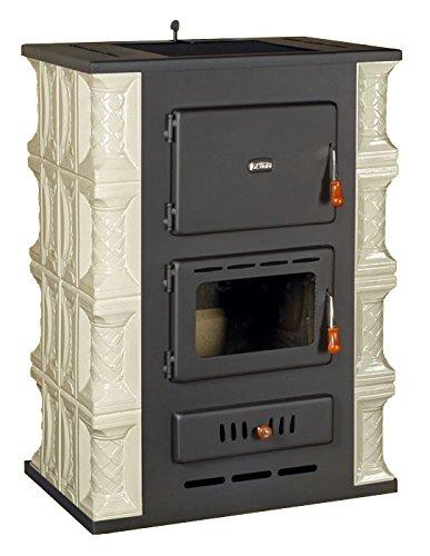 Estufa de cerámica caldera de leña Prity, Modelo S3 W13 K, Salida de calor 18 kW: Amazon.es: Bricolaje y herramientas