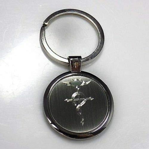 Full Metal Alchemist Keychain Key Chain Tag Engraved Silver Tone Metal - Alchemist Keychain Full Metal