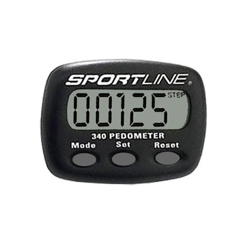 Sportline 340 Multifunction Pedometer - 1/Each by Sportline Pedometer
