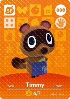 Animal Crossing Happy Designer Amiibo Timmy
