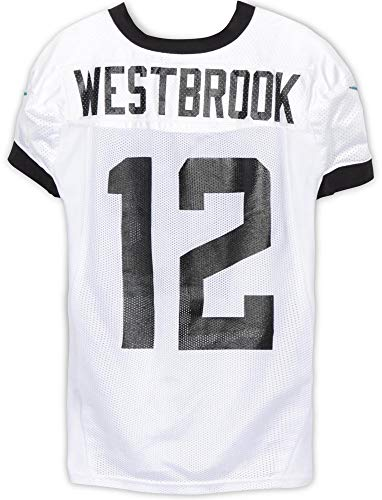 Dede Westbrook Jacksonville Jaguars Practice-Used #12 White Jersey from the 2018 NFL Season - Size 46 - Fanatics Authentic Certified