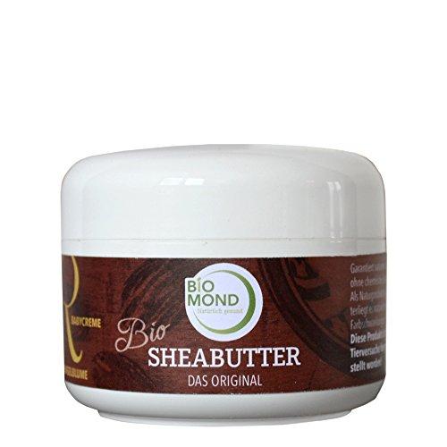 BIO Sheabutter *R* Babycreme Ringelblume von BIOMOND / ORIGINAL / 150 g / Naturkosmetik / Sheabutter, Ringelblumenöl, Lavendelöl / für Babyhaut / von Hebammen empfohlen