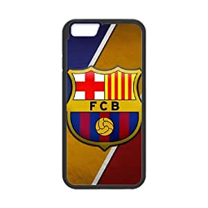 iPhone 6 Plus 5.5 Inch Cell Phone Case Black Barcelona Football BGF Cell Phone Case Durable Personalized