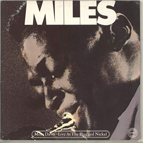 Live At The Plugged Nickel - red label (Miles Davis Complete Live At The Plugged Nickel)