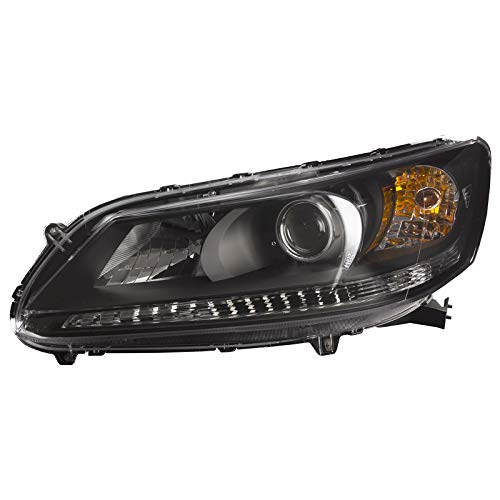 HEADLIGHTSDEPOT Compatible with Headlight Left Driver Side Assembly Compatible with Honda Accord Sedan Accord Oem Left Side Headlight
