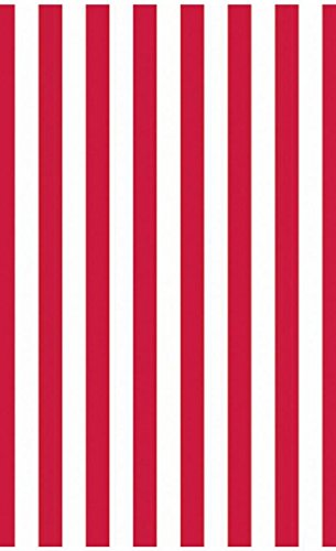 Amscan – Red Stripe Jumbo Gift Wrap 16ft