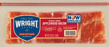 Wright Smoked Applewood Bacon 3.5 Lb (2 Pack) - 2 Pack Bacon