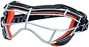 STX Lacrosse Focus-S Goggle, Graphite/Citrus