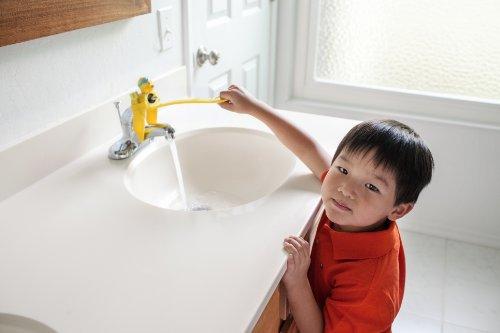 Aqueduck Faucet Handle Extender A Safe Fun And Kid