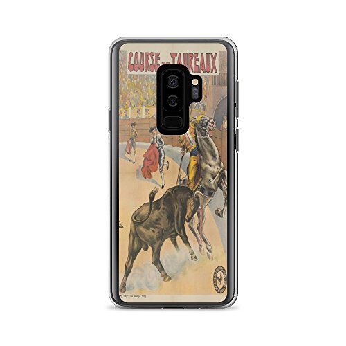 Vintage poster - Course de Taureaux 0437 - Samsung Galaxy S9 Plus Phone Case - Casa Seville Collection