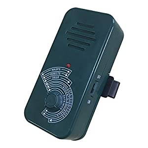 SOARING Portable Ultrasonic Repellent Adjustable Pest Control ,Non-toxic Environment-friendly, Safely Repels Cats, Dogs, Insects, Skunks, Rodents, Bats, Deer and More