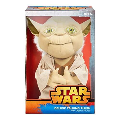 chollos oferta descuentos barato Star Wars Peluche hablador de Yoda