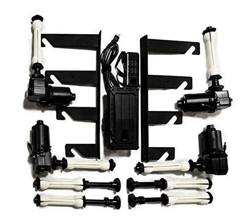 LB 4-Roller Remote-Control Motorized Electric Background Backdrop Support System by LB (Image #4)