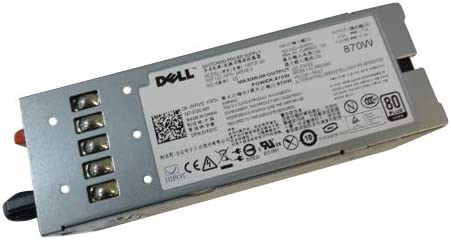 New Genuine PS for Dell PowerEdge R710 T610 PowerVault NX3000 NX3100 870W Power Supply 0VT6G4 VT6G4