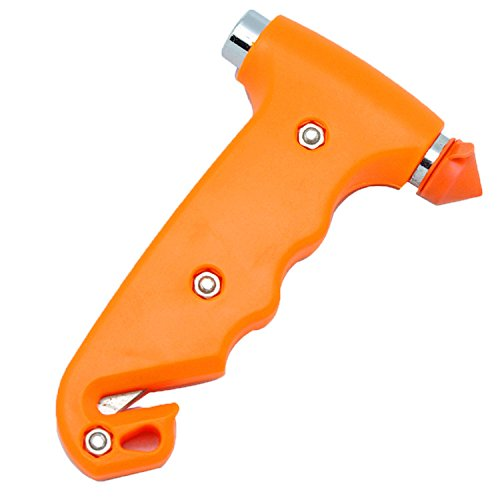 Carsaxon Stainless Steel Safety Life-Saving Hammer Tool Window Punch Breaker by Carsaxon (Image #2)