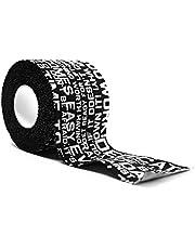 All In All Out Premium Tape Lift Sporttape voor gewichtheffen, Olympisch gewichtheffen, crossfit, fitness, sport - bescherming voor duim en vingers, 50 mm x 9,1 m