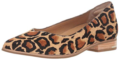 (Dr. Scholl's Women's Flair - Original Collection Tan Multi Leopard Pony Hair 6.5 M US)