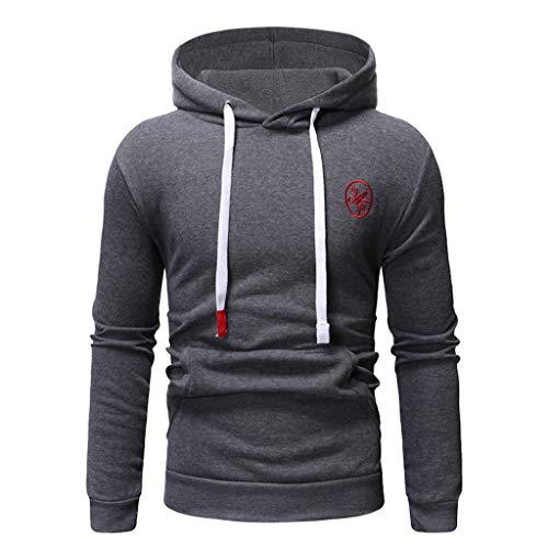 Long Sleeve Autumn Winter Casual Sweatshirt Hoodies Top Blouse TracksuitsMen