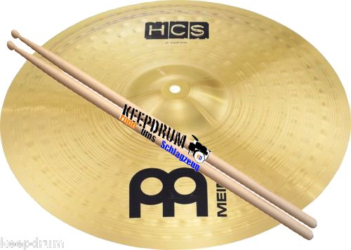 MEINL HCS Crash/Ride Becken 18