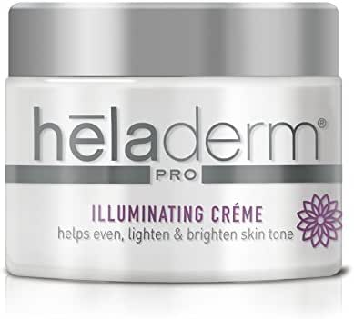 Advanced Anti-Aging Illuminating Cream to Help Correct Dark Spots, Sun Spots, Skin Discoloration, Moisturizing, Hydrating, Heladerm 1.7 fl. Oz.