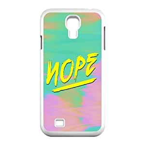 Nope Wholesale DIY Cell Phone Case Cover for SamSung Galaxy S4 I9500, Nope Galaxy S4 I9500 Phone Case